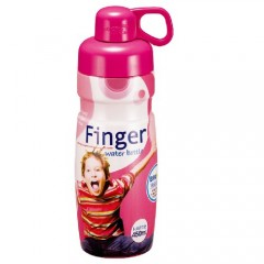 Finger Water Botl 450Ml Pink