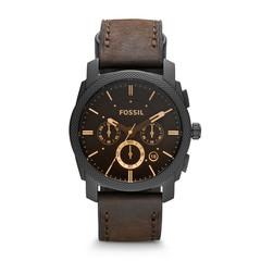 Fossil Machine Men's Watch Brown FS4656IE