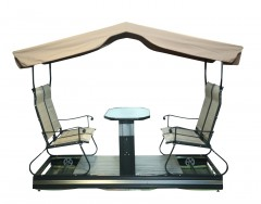 Garden Swing -B003, 4 Seater With Tent