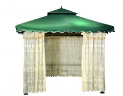Garden Tent -Dr-1119 Size:300x300Cm W/Out Table & Chair Col: Green