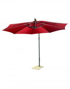Garden Umbrella -8710, Size: 2.7M, Col: Maroon
