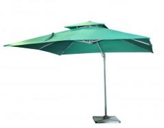 Garden Umbrella -D023, Size: 3x3M, Col: Blackish Green