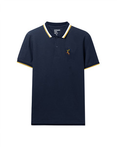 Giordano Deer Embroidered Polo For Men S