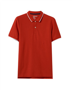 Giordano Men's Contrast Tipped Polo M