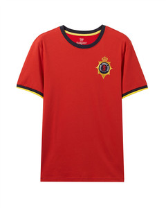 Giordano Men's Crew neck Tee with Embroidery L