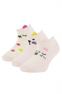 Girl Low Cut Socks LT.PINK 23 - 28