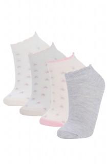 Girl Low Cut Socks PINK 29-34