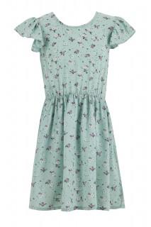 Girl Woven Dress LT.MINT 4-5