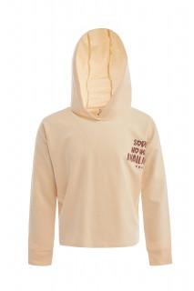 Girl's Sweat Shirt SALMON 6/7