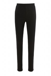 Girl's Trousers BLACK 3/4