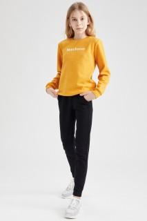 Girl's Trousers BLACK 4/5