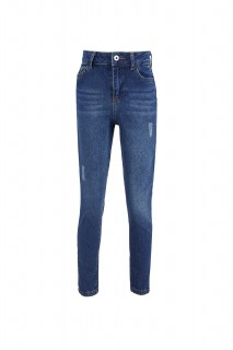 Girl's Trousers MID BLUE  5/6