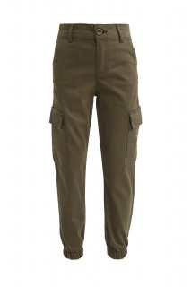 Girl's Trousers OLIVE   5/6
