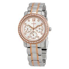 Guess Analog Silver Dial Women's Watch - W0305L3