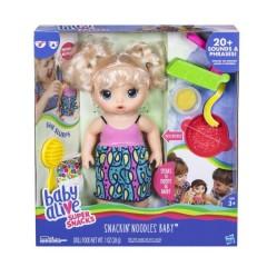 Hasbro Babyalive Snackin Noodles Baby Blonde