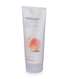 Herb Day Cleansing Foam Peach