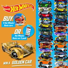 Hot Wheels 5 Diecast Vehicles Gift Pack