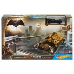 Hot Wheels Batman V Superman Zipline Launcher Trackset