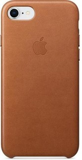 iPhone 8 / 7 Leather Case - SADDLE BROWN MQH72