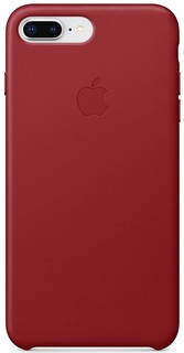 IPHONE 8 PLUS / 7 PLUS LEATHER CASE - (PRODUCT)RED MQHN2 (190198496898)