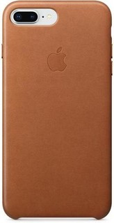 iPhone 8 PLUS / 7 PLUS Leather Case - SADDLE BROWN MQHK2