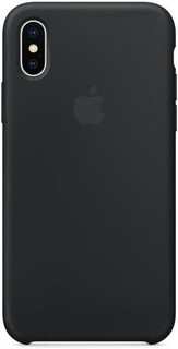 iPhone X Silicone Case - BLACK MQT12