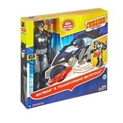Justice League Action 12 Inch Figure + Vehicle