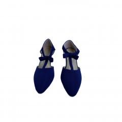 Ladies Shoes Color : Blue 36