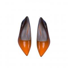 Ladies Shoes Color : Orange 36