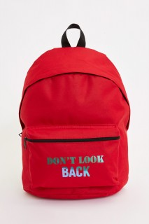 Letter Printed Backpack 8698436328175
