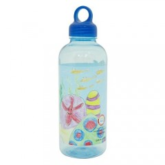 Loop Water Bottle 700Ml Blue - Fish