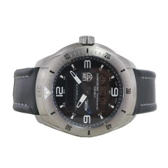 Luminox Mens Xcor Space Expedition Black Dial Silver Watch