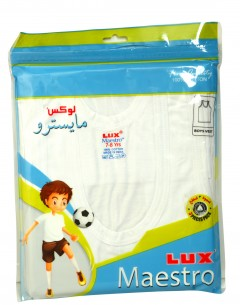 Lux Maestro Boys Vest Pack Of 3 : 3-4Yrs