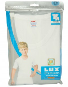Lux Premium Boys T-Shirt+Boxer Set : 3-4Yrs