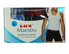 Maestro Mens Interlock Trunk Pack Of 3 :Size M