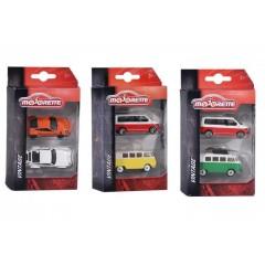 Majorette Vintage Cars 2 Pcs Set