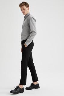 Man Long Sleeve Shirt GREY- XS