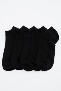 Man Low Cut Socks BLACK STD
