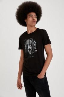 Man T-Shirt BLACK- XS