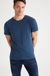 Man T-Shirt D.BLUE- S