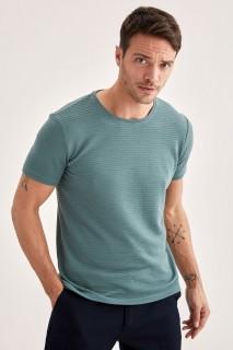 Man T-Shirt GREEN- S