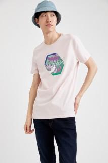 Man T-Shirt PINK- S