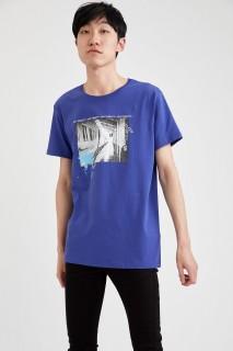Man T-Shirt ROYAL- S