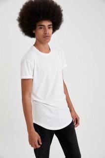Man T-Shirt WHITE- S