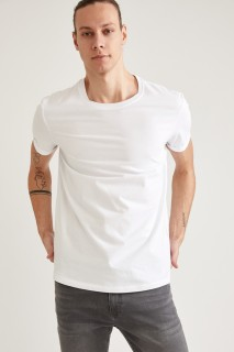 Man T-Shirt WHITE- XS