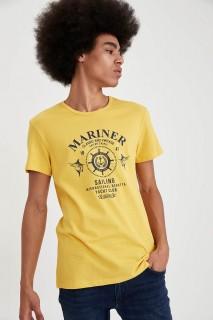 Man T-Shirt YELLOW- S