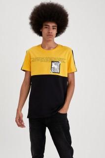 Man T-Shirt YELLOW- XS