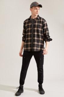 Man Trousers BLACK- 34