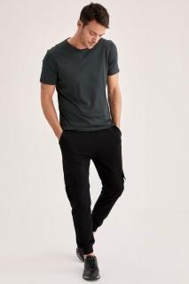 Man Trousers BLACK- XS