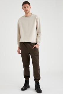 Man Trousers Khaki- 28